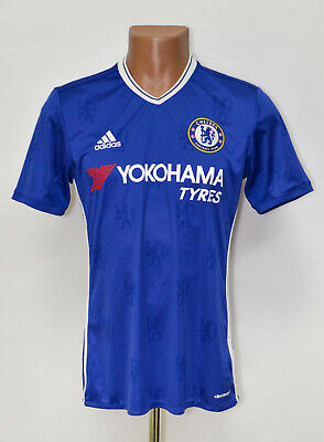 Chelsea London 2016/2017 Home Football Shirt Jersey Adidas Size S Adult • 32.99£