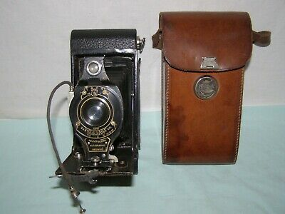 Old Bellows Camera From The XXth  Eastman Kodak  Made In USA   • 80£