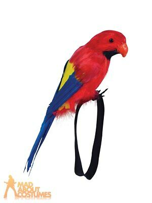 48cm INFLATABLE PARROT PIRATE COSTUME Blow Up Summer Hawaiian Tropical Party UK
