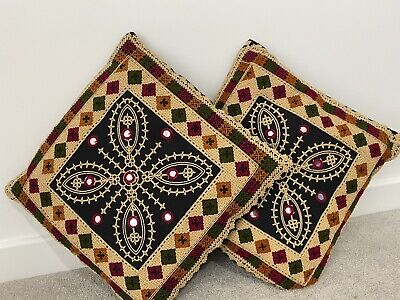 Embroidered Fancy Cushion Cover • 12.99£