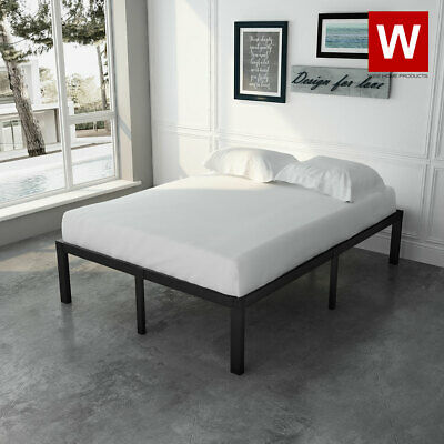 $ CDN194.32 • Buy Full Bed Frame - Heavy Duty Metal Full Platform Beds With Storage - Height 14