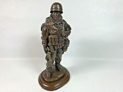 Military Art Army Infantry Soldier Statue  Afghanistan Iraq Base • 29.47£