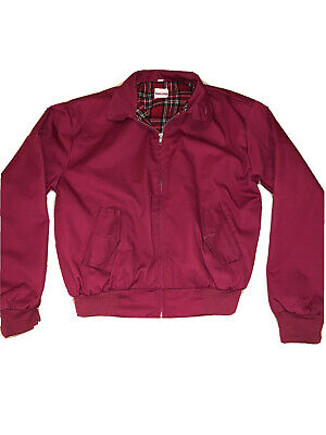 £18 • Buy Red Harrington Bomber Jacket Size XS Urban Outfitters Renewal