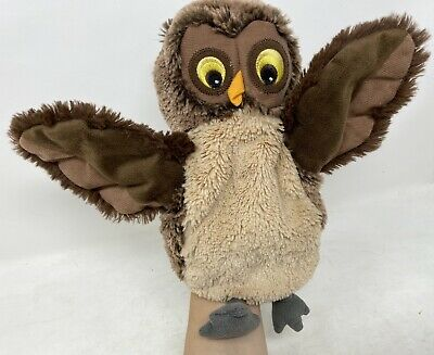 Disney Winnie The Pooh Brown Slender Owl Hand Puppet Soft Toys Plushies Theatre • 7.99£