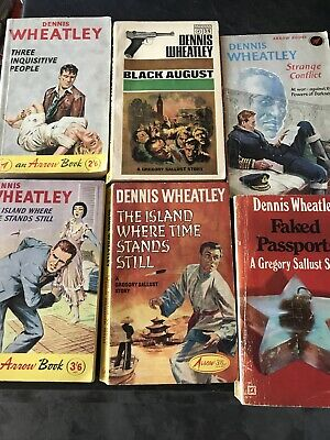 Collection Of 6 Dennis Wheatley Books • 15£