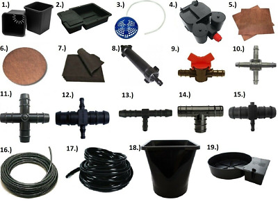 Autopot Irrigation Watering Hydroponic System Parts Accessories Connectors • 9.61£