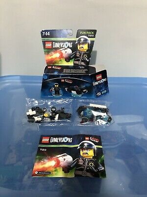 AU10 • Buy THE LEGO MOVIE - DIMENSIONS 71213 BAD COP & POLICE CAR New Box Open, Bags Sealed