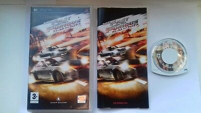 Sony PSP Game The Fast And The Furious • 29.99£