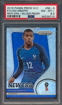 $ CDN38.49 • Buy 2018 Panini Prizm World Cup Russia New Era Kylian Mbappe Silver PSA 8.5 46539710