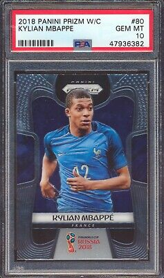 $ CDN1204.38 • Buy 2018 Panini Prizm World Cup 80 Kylian Mbappe RC Rookie PSA 10 GEM MINT 47936382