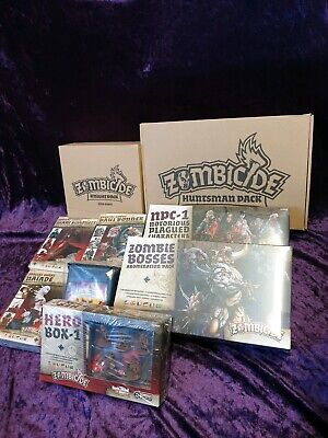 AU499 • Buy Zombicide Black Plague Kickstarter Exclusives, Base Game NOT Included