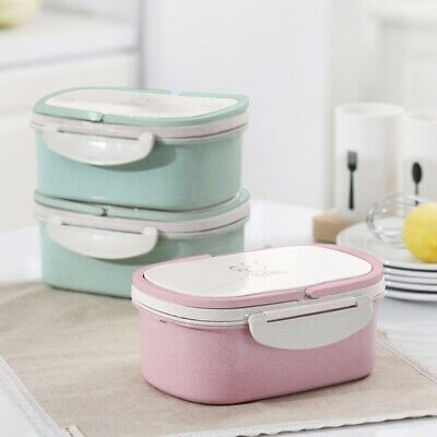 Portable Thermal Insulated Lunch Box Picnic Fruit Food Container Case Tableware • 11.59£