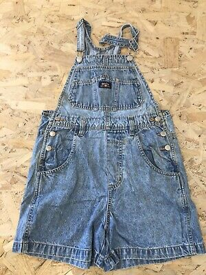 Girls Dungarees Age 12-13 Years Gasoline Blue Denim D2135 • 8.99£