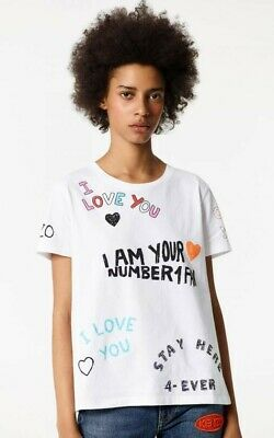 AU30 • Buy Kenzo I Love You T Shirt Size M