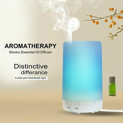 AU24.99 • Buy USB Electric Air Diffuser Aroma Therapy Oil Humidifier 7 Color Bedroom Defuser