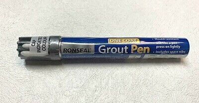 Grout Reviver Pen Ronseal Grey Touch Up Paint Mould Bathroom Kitchen 15ml • 11.95£