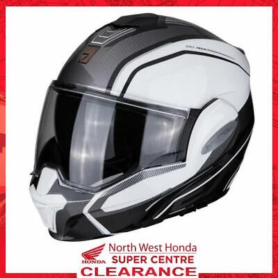 £239.99 • Buy Scorpion EXO Tech Flip-Front Motorcycle Helmet Time Off White Silver S
