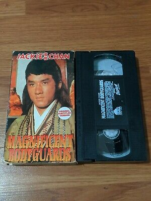 $ CDN6.67 • Buy Magnificent Bodyguards Vhs Arena Home Video Jackie Chan Martial Arts Kung Fu