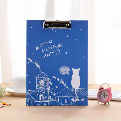 Clipboard Fold Over Clip Board Writing Office Document Holder Pad Hard Filing Y2 • 4.08£