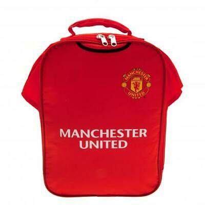 Manchester United FC Official Crested Kit Lunch Bag Red Devils School Present  • 11.85£