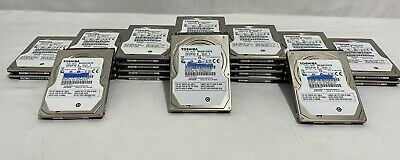 $ CDN462.37 • Buy Lot Of 26 320GB 2.5  SATA Laptop Hard Drives Mixed Brands Toshiba WD Seagate