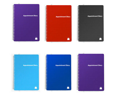 2020-2021 Day Per Page Appointment Diary Book | A5 & A4 | Any Mid-Year Option!!! • 14.95£