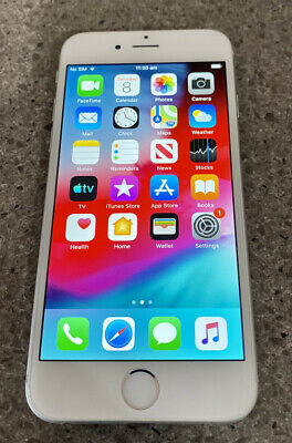 AU73 • Buy Apple IPhone 6 - 16GB - Silver (Unlocked) - NO SCRATCHES OR SCUFFS A1586