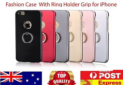 AU9.99 • Buy High Quality Case With Ring Back Cover For IPhone 5s 5se 6 6s 7 8 Plus