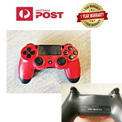 AU59.99 • Buy Genuine Sony PS4 DualShock 4 DUAL SHOCK Game Controller RED Without Box AU