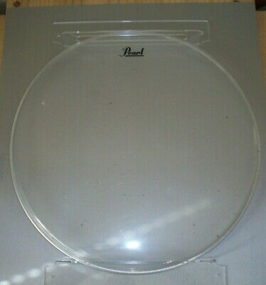 £12.99 • Buy Pair Of Clear Acrylic Premium Wall Mount Bracket For Signed Drum Skin Autograph