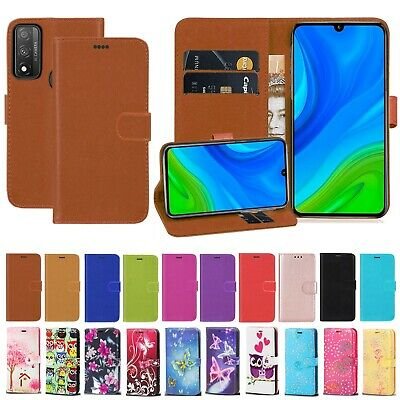 For Huawei P Smart 2020 PU Leather Wallet Flip Stand Shockproof Case Cover • 3.99£
