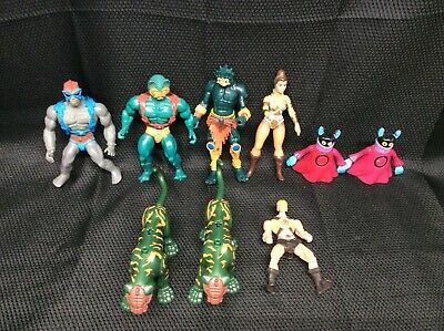 $109.99 • Buy He-Man Lot Of 9 Figures FREE SHIPPING I-6619