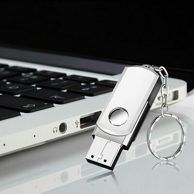 USB 2.0 Memory Stick Flash Thumb Pen Drive High Speed Mini Metal 32 GB Keyring • 5.99£