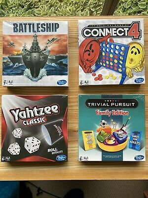 AU49.99 • Buy Travel Sized Hasbro Games - Trivial Pursuit, Yahtzee, Battleship, Connect4 - New
