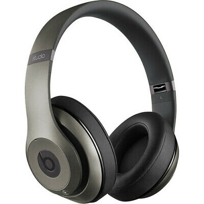 Beats By Dr. Dre MHAD2AM Studio 2.0 Titanium Wired Over Ear Headphoneswarranty • 102.25£
