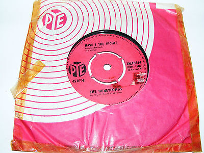 Honeycombs  Have I The  Right  ?  Original 1964 7 /  Please Don't Pretend Again  • 10.99£