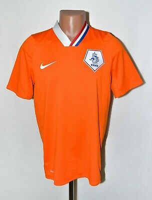 £29.99 • Buy Holland National Team 2008/2009 Home Football Shirt Jersey Nike Size M Adult