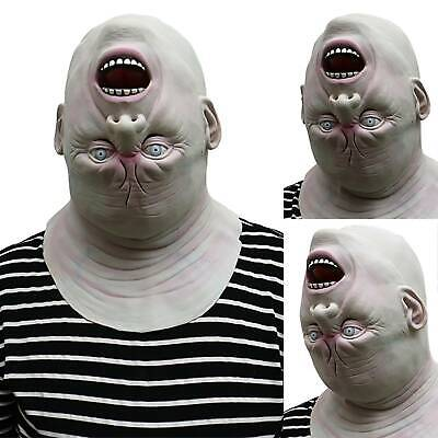 Reverse Alien Zombie Mask Games Latex Scary Adult Halloween Costume Party Props • 14.15£
