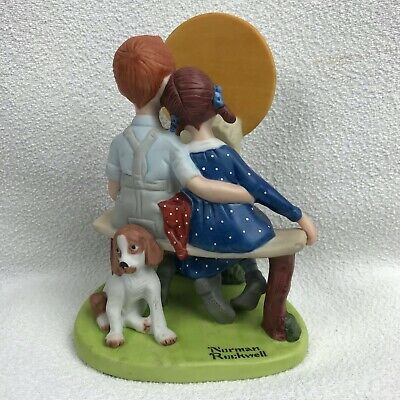 $ CDN34.18 • Buy  Young Love   The 12 Norman Rockwell Porcelain Figurines Danbury Mint