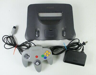 $ CDN147.16 • Buy Nintendo 64 N64 Gray Console Tested NUS-001 Bundle With Controller