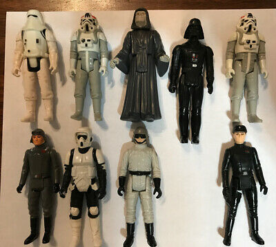 $ CDN17.35 • Buy Vintage Star Wars Action Figures Imperial Lot Of 9 ANH ESB ROTJ 1977-1983