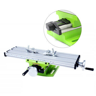 £21 • Buy Milling Working Table Machine Drilling Slide Table For Bench Drill Adjustme X-Y