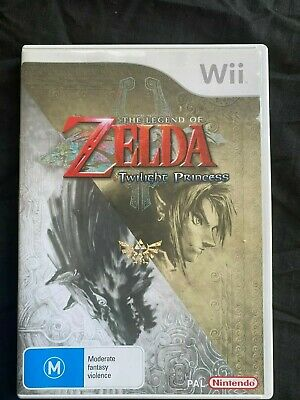 AU26 • Buy The Legend Of Zelda: The Twilight Princess Wii - Complete