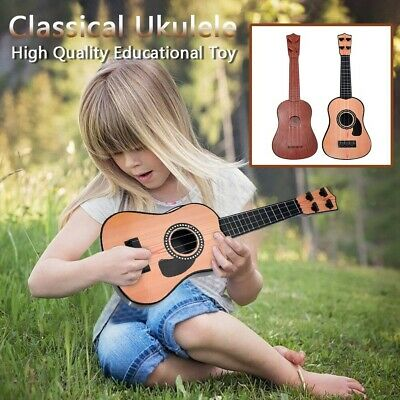 AU15.19 • Buy Beginner Classical Ukulele Guitar Educational Musical Instrument Toy For Kids AU