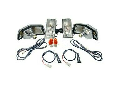 Vespa Front Rear Indicators Clear Lens E4 Marked Px 125 150 200 Lml Stella Star  • 34.99£