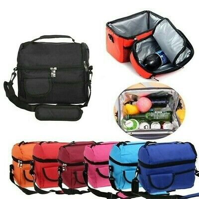 AU22.99 • Buy Insulated Lunch Bag Cooler Box Thermos Tote Food Container Waterproof