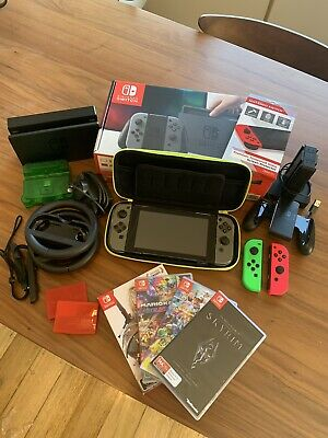 AU500 • Buy Nintendo Switch Bundle (Console + Accessories + Games)