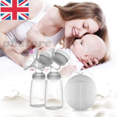 View Details Electric Breast Pump Automatic Dual Breastpump Baby Infant Feeding With USB • 16.59£
