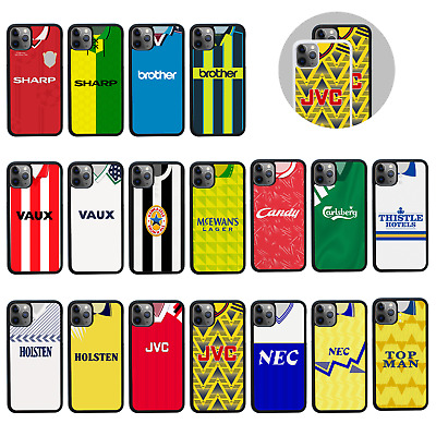 £6.95 • Buy RETRO FOOTBALL SHIRTS | Protective Rubber Case/Cover For Apple IPhone 11 Pro Max