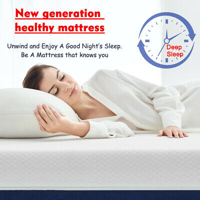 AU159.99 • Buy Molblly Mattress 25 CM  Queen Size Bed Memory Foam  Medium Firm Mattress In Box